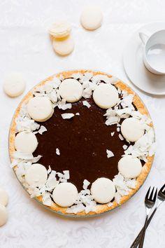 Thermomix Coconut Chocolate Tart