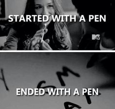 Allison Argent // SM AA // Teen Wolf // Scallison // Death // Scott McCall // Started with a Pen , Ended with a Pen