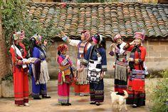 Sani people, Kunming, Yunnan, China