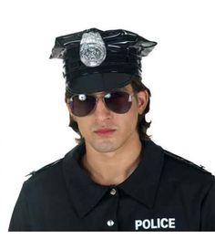 Σετ αστυνομικού καπέλο και γυαλιά