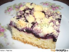 Rychlý borůvkový koláč
