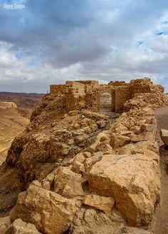 Masada Ruins . Israel