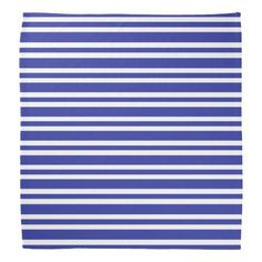 Blue and White Thick and Thin Stripes Bandana  sc 1 st  Pinterest & Green and White Thick and Thin Stripes Paper Plate | Stripes Green ...