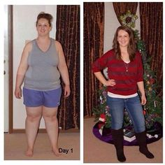 Sara has lost over 70 lbs on her Challenge! #WeightLoss #BodyByVi #90DayChallenge #beforeandafter http://www.my-body-by-vi.com/Before-and-After-Photos