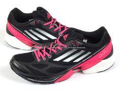 best website bd213 78f6e Adidas Adizero Feather 2 W BlackWhiteBright Pink Lightest Sprint Web  G61902 Bright