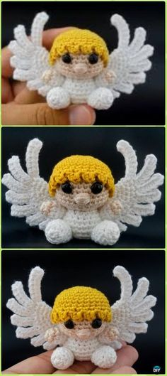 Little Amigurumi Crochet Angel Free Pattern - Crochet Angel Free Patterns