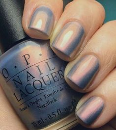 OPI Sugarplum Yum is such an interesting nail polish color. Not sure it would look good on every skin tone. Nail Lacquer, Opi Nail Polish, Opi Nails, Nail Polish Colors, Nail Polishes, Shellac, Do It Yourself Nails, How To Do Nails, Cute Nails