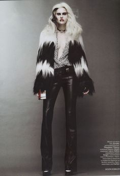 """On the Verge of Acute"" : Alla Kostromichova : Vogue Russia October 2011 : Jason Kibbler"