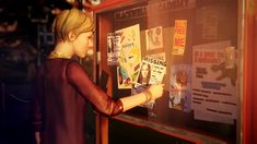 Image result for life is strange victoria and mr jefferson in front of school