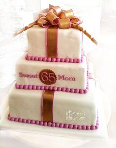 Stapeltaart voor Sweet Mom 65