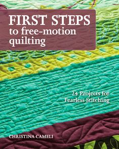 A Few Scraps: Free Motion Quilting...Step by step instructions and advice on free motion quilting. Be sure to see the Free-Motion Designs page