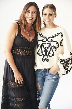 The Olivia Palermo Lookbook : Olivia Palermo wears this Zara sweatshirt and sell...