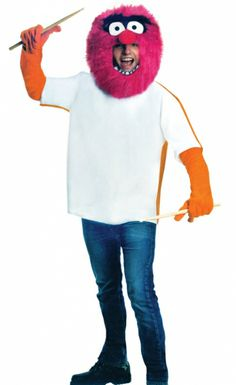 The Muppets Animal Costume - Adult Costumes