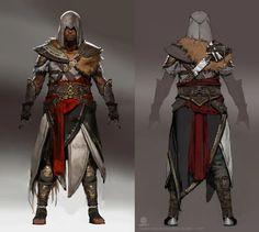 Assassin's Creed Origins Concept Art by Jeff Simpson - Yıldız Fırsat Arte Assassins Creed, Assassins Creed Origins, Assassins Creed Odyssey, Concept Art World, Game Concept Art, Fantasy Character Design, Character Concept, Character Art, Character Ideas