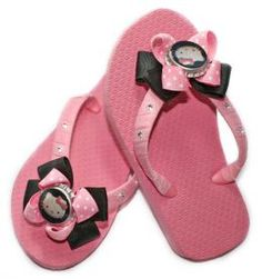 Decorating your own flip flops is a fun and creative way to own the fabulous designer looks at a fraction of the cost! Take a pair basic flip flops and personalize them to suit your unique style!
