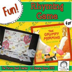 Match the Rhyme Game inspired by The Grumpy Morning by Pamela Duncan Edwards.