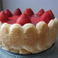 """Strawberry Torte 