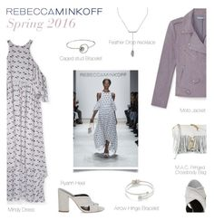 """""""Rebecca Minkoff Spring 2016"""" by junglover ❤ liked on Polyvore featuring Rebecca Minkoff, women's clothing, women, female, woman, misses and juniors"""