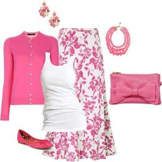 Pink outfit