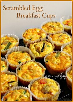 sriracha scrambled egg biscuit cups recipes dishmaps biscuit and egg ...