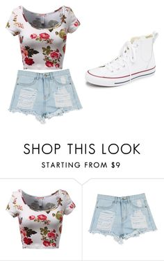 """kk"" by eskucinska on Polyvore featuring moda, Converse, women's clothing, women, female, woman, misses i juniors"