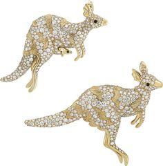 Van Cleef & Arpels Arche De Noe Kangourous #kangaroo #jewelry #jewellery…