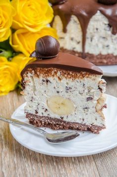 Delicious Deserts, Yummy Food, Sweets Recipes, Cake Recipes, Romanian Desserts, Mango Cake, Just Cakes, Cheesecakes, No Bake Cake
