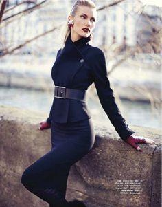 Gucci, Chanel, Louis Vuitton, Balenciaga editorial