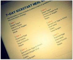 meal plan for 7 day kick start – Jillian Michaels Body Revolution Source by meganstoner Healthy Foods To Eat, Healthy Smoothies, Healthy Life, Healthy Living, Health Foods, Diet Foods, Healthy Recipes, Jillian Michaels Diet, Jillian Michaels Body Revolution