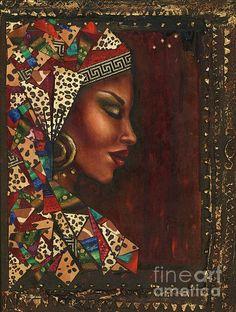 Painting by Alga Washington.