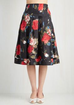 bf39bab0b6657 Greenhouse Grandeur Skirt in Black