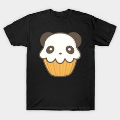 Shop Tasty Cupcake Panda Is Kawaii Cute panda t-shirts designed by happinessinatee as well as other panda merchandise at TeePublic. Trippy Cat, Panda Cupcakes, Cupcake Art, Cute Panda, Kawaii Cute, Graphic Tees, Shirt Designs, Snoopy, Christmas Ideas