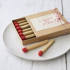 Box Of Eight Matchstick Biscuits - best valentine's gifts for him