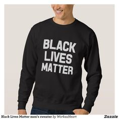 Black Lives Matter men's sweater
