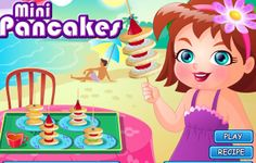Mini Pancakes, Cake Games, Cooking Games, Play Food, Beach Party, Yummy Food, Recipes, Delicious Food