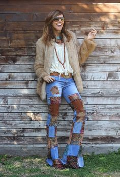 like a hippie - mytenida Boho Fashion, Autumn Fashion, Womens Fashion, Fashion Design, Bohemian Style, Boho Chic, Hippie Bohemian, Boho Gypsy, Blusas Country