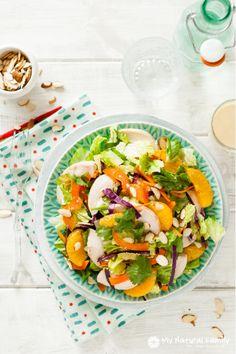 Oriental Chicken Salad Recipe (Paleo, Gluten Free, Clean Eating, Dairy Free)