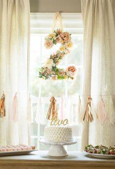 Birthday decor + cake topper!