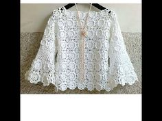 So beautiful Crochet Skirts, Crochet Cardigan, Crochet Clothes, Mode Crochet, Crochet Lace, Crochet Jacket Pattern, Crochet Patterns, Lace Skirt And Blouse, African Lace Dresses