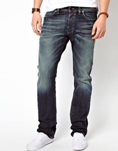 Diesel Jeans Safado Straight 885K Dark Grey