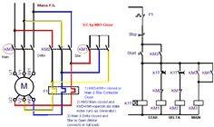 Control Wiring Diagram Of Dol Starter Twist Lock Plug Circuit Star Delta Electrical Info Pics Non Power