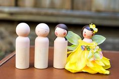 Fun and Easy Fairy Peg people