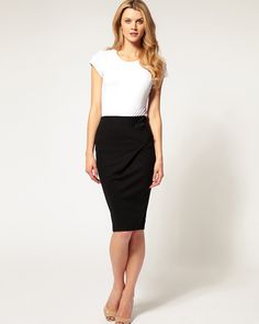7b9facc0b74 Do you like black pencil skirt outfit for style? Get your best black skirts  online