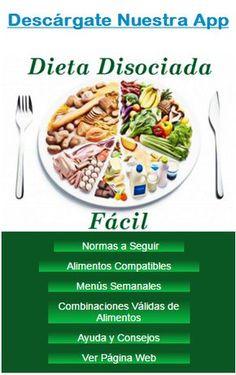 DIETA DISOCIADA Y TABLA DE ALIMENTOS COMPATIBLES: TABLA DE ALIMENTOS COMPATIBLES