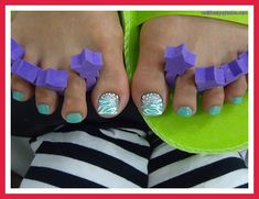 summer toe nail art designs 2012