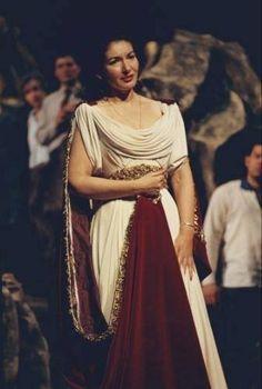 Maria Callas - Norma (colour photo)