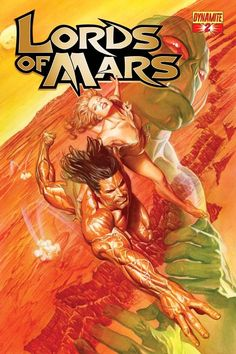 Alex Ross-Lord of Mars #2 cover Comic Art