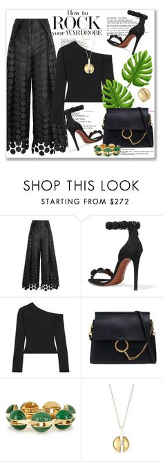"""""""My Mood Today"""" by lidia-solymosi ❤ liked on Polyvore featuring Solace, Alaïa and Chloé"""