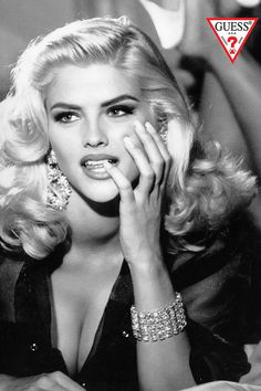 Anna Nicole Smith for Guess | Everyday People Re-Create Iconic Fashion Ads