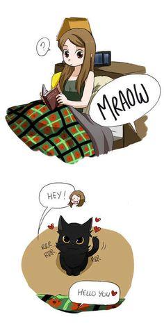 "owlyfa: "" My 1st comic of Carmilla. I love this show ♡ "" So cute! So many lulz! #SaveCarmilla!"